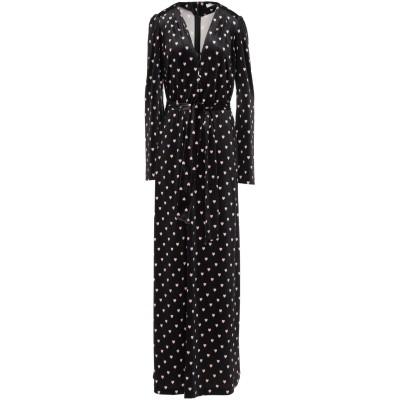VIVETTA ロングワンピース&ドレス ブラック 42 ポリエステル 90% / ポリウレタン 10% ロングワンピース&ドレス