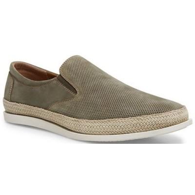 スティーブ マデン メンズ スリッポン・ローファー シューズ Men's Caprie Leather Slip-On Loafers