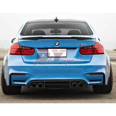 Vタイプ BMW F30 F80 セダン 2012-2016 ABS製 リアトランクスポイラー 純正色塗装