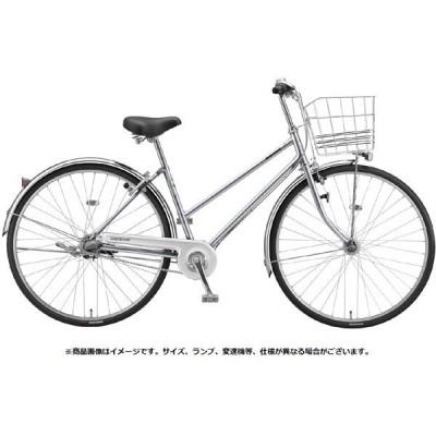 送料無料 ブリヂストン シティサイクル自転車 ロングティーン 変速なしモデル L60ST1 M.XRシルバー