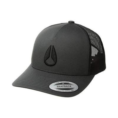 ニクソン Iconed Trucker Hat メンズ 帽子 Charcoal/Black