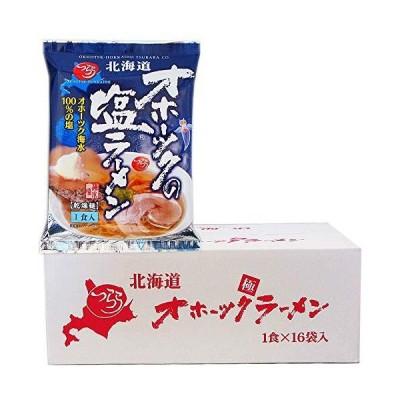 つらら 北海道 オホーツクの塩ラーメン 160g×16個