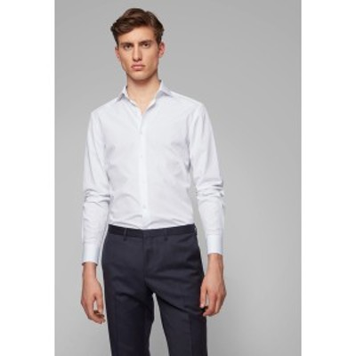 ボス メンズ シャツ トップス Formal shirt - white white