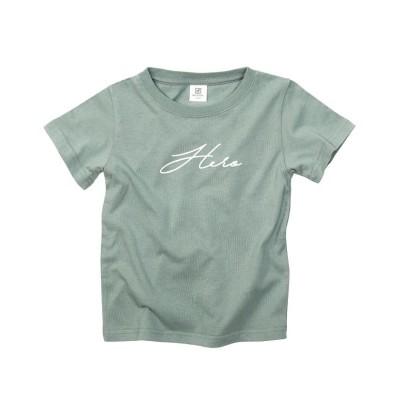 【デビロック】 デビラボ プリントTシャツ キッズ ミント 90-95 devirock