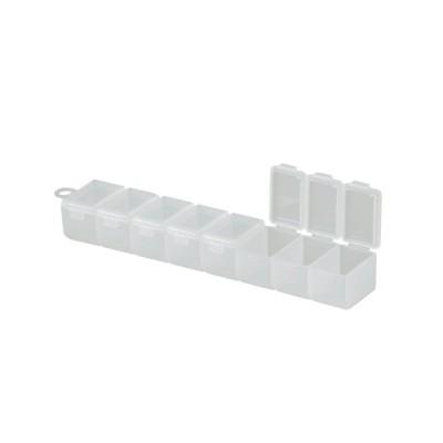メイホウ 8連ケース サプリメントケース プラスチック 収納 ツールボックス 工具箱 薬入れ 薬ケース 小物入れ ケース 箱 仕切り ボックス 花・ガーデン・DI