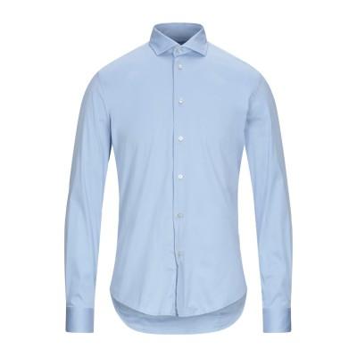 ブライアン デールズ BRIAN DALES シャツ スカイブルー 41 コットン 80% / ナイロン 15% / ポリウレタン 5% シャツ