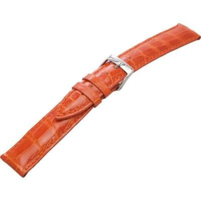 MORELLATO モレラート 時計ベルト VOLTERRA 18mm オレンジ アリゲーター U0856 056 086 018 男性用
