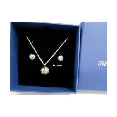 おしゃれ 個性的 高品質 ネックレス スワロフスキー Swarovski Hote SetWhiteRhodium plating 5301466