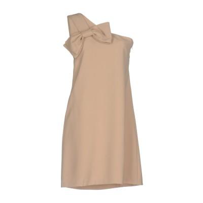 カオス KAOS ミニワンピース&ドレス ベージュ 40 ポリエステル 91% / ポリウレタン 9% ミニワンピース&ドレス