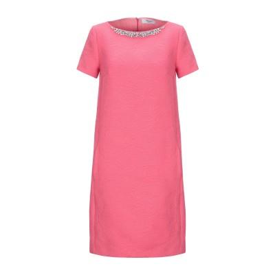ブルーガール ブルマリン BLUGIRL BLUMARINE ミニワンピース&ドレス フューシャ 38 ポリエステル 60% / コットン 40%