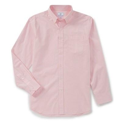 サウザーンタイド メンズ シャツ トップス Sullivan Solid Long-Sleeve Woven Shirt Pink