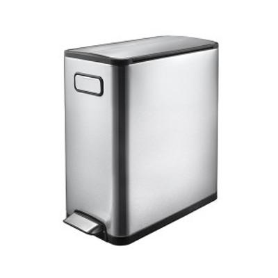 EKO エコフライ ステップビン 20L ステンレス ゴミ箱 ごみ箱 1年保証 ダストボックス キEK9377MT-20L【送料無料】