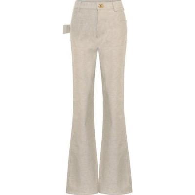 ボッテガ ヴェネタ Bottega Veneta レディース ジーンズ・デニム ブーツカット ボトムス・パンツ High-Rise Bootcut Jeans Light Biscuit