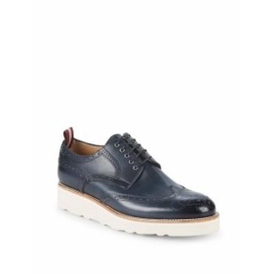 バリー メンズ スニーカー Cordik Platform Leather Sneakers