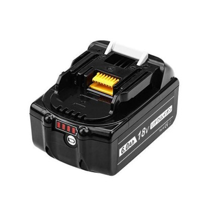 Vanko マキタBL1860B マキタ18vバッテリー6.0ah マキタ18vバッテリー マキタ互換バッテリー18v 互換品 残量表示 1年保証 V