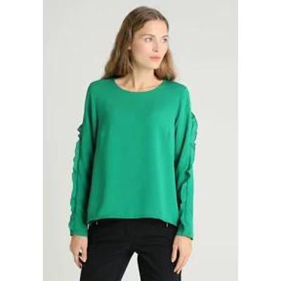 More & More レディーストップス More & More Blouse - brilliant green brilliant green
