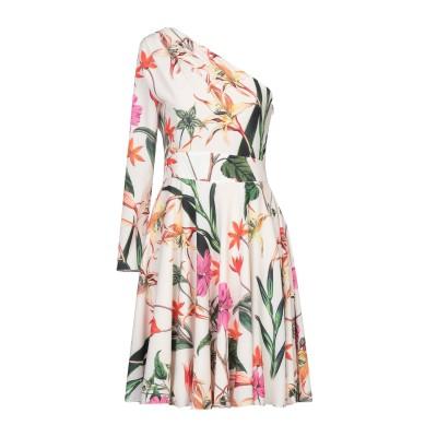 ALEX VIDAL ミニワンピース&ドレス アイボリー 36 ポリエステル 100% ミニワンピース&ドレス