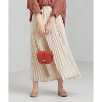 スカート [手洗い可能] CFC シフォン プリーツ スカート