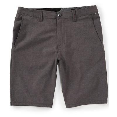 ボルコム メンズ ハーフ&ショーツ ボトムス Frickin SNT 21#double; Outseam REPREVE Recycled Materials Hybrid Shorts Charcoal Heather