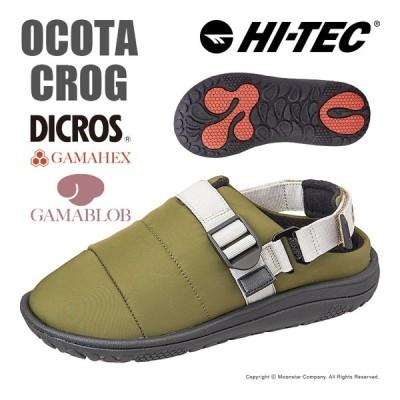 ハイテック HI-TEC メンズ/レディース モックシューズ OCOTA CLOG カーキ