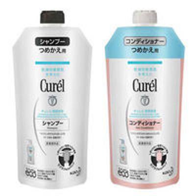 花王Curel(キュレル) シャンプー 詰め替え 340mL+コンディショナー 詰め替え 340mL 花王 敏感肌