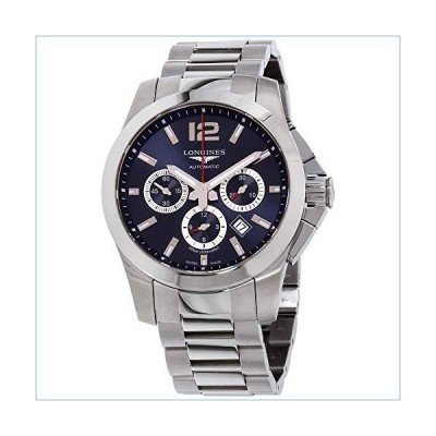 Longines Conquest Chronograph Blue Dial Stainless Steel Men's Watch L38014966並行輸入品