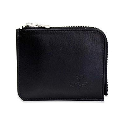 財布 ミニ財布 コンパクト レディース 人気 カード 小さめ 薄い 革 おしゃれ 軽い ブランド 19-2010-BK (19-2010 ブラ