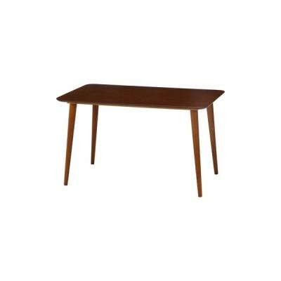 不二貿易 ダイニングテーブルエクレア12075DBR 92602