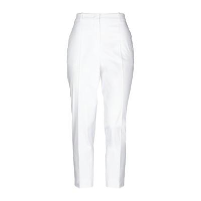 ジル サンダー JIL SANDER パンツ ホワイト 34 コットン 97% / ポリウレタン 3% パンツ