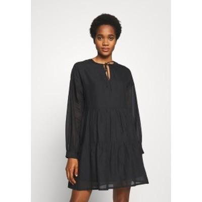 オンリー レディース ワンピース トップス ONLAGGY DRESS - Day dress - black black