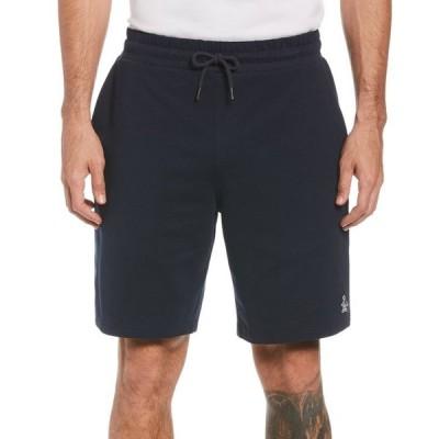 オリジナルペンギン メンズ ハーフパンツ・ショーツ ボトムス Men's Slim-Fit Solid French Terry Shorts