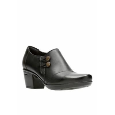 クラークス レディース パンプス シューズ Emslie Warren Black Shoes Black