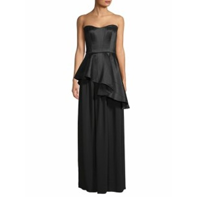 ランバン レディース ワンピース Asymmetric Peplum Gown