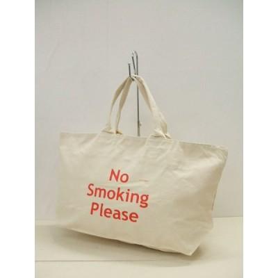 DESIGN AGAINST TREND/No Smorking Please/トートバッグ/デザインアゲインストトレンド/新品/定価4800円【中古】【メンズ】0-1210G♪