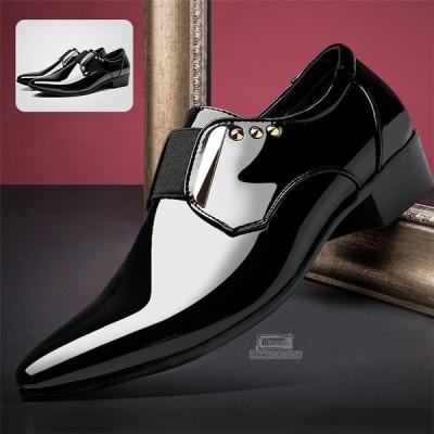 ビジネスシューズ メンズ ストレートチップ シューズ 紳士靴 革靴 フォーマルシューズ 結婚式 サラリーマン向け