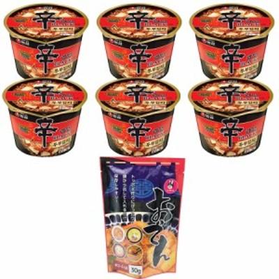 NEW 農心辛ラーメンブラックボウル豆腐キムチ94g x 6個 + 韓国乾燥おでん30g x1袋 辛ラーメンブラックの濃いスープに豆腐キムチチゲの味