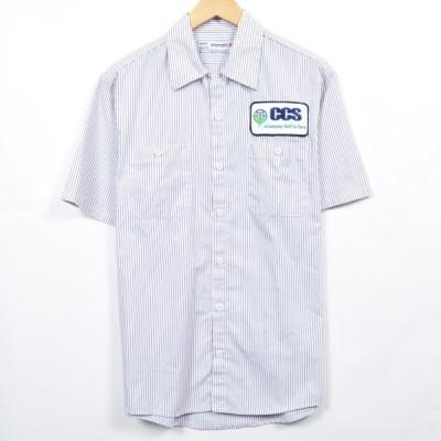 aramark 半袖 ワークシャツ メンズS /eaa032744