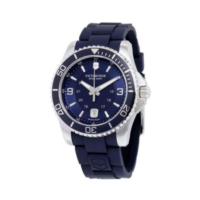 腕時計 ヴィクトリノックス Victorinox スイス Army Maverick GS ネイビー ダイヤル ネイビー ブルー ラバー メンズ 腕時計 241603