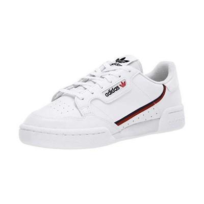 adidas Originals Men's Continental 80 Sneaker, White/Scarlet/Collegiate Navy, 11 Medium US