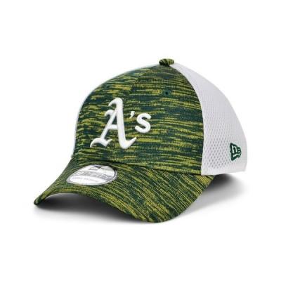 ニューエラ メンズ 帽子 アクセサリー Oakland Athletics English Knit Neo 39THIRTY Cap