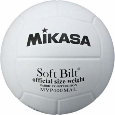 ミカサ(MIKASA) バレーボール(練習球4号) MVP400MALP 白 【中学校 家庭婦人用】【20ESP】