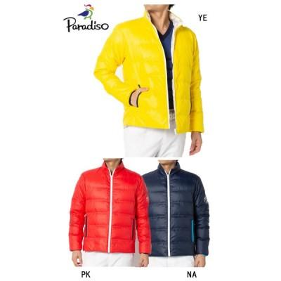 ●2019 F/W Paradiso パラディーゾウェア【メンズ】リバーシブルダウンブルゾン 6SQ02D