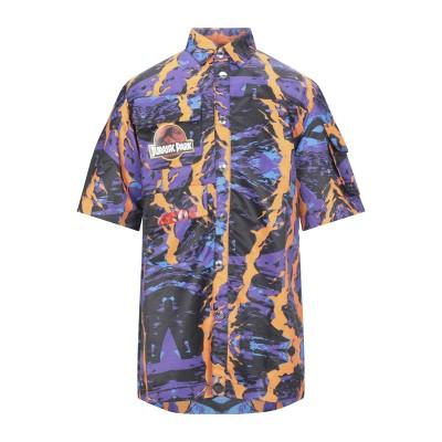 GCDS シャツ パープル XS ポリエステル 100% シャツ
