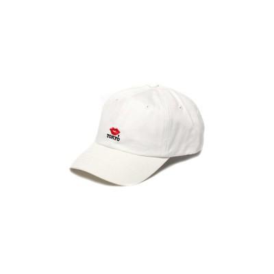 帽子 キャップ 【KISS TOKYO/キストーキョー】LIP LOGO LOW CAP/キャップ