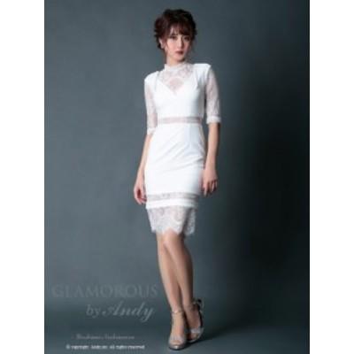 GLAMOROUS ドレス GMS-V488 ワンピース ミニドレス Andy グラマラスドレス クラブ キャバ ドレス パーティードレス