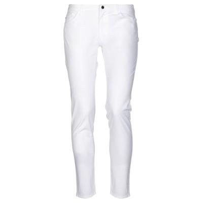 アルマーニ ジーンズ ARMANI JEANS パンツ ホワイト 34 コットン 81% / ポリエステル 15% / ポリウレタン 4% パンツ