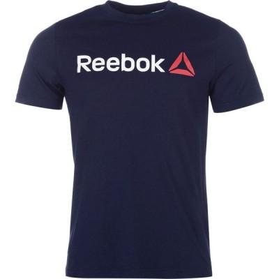 リーボック Reebok メンズ Tシャツ トップス Boys Graphic Series Training T-Shirt Navy