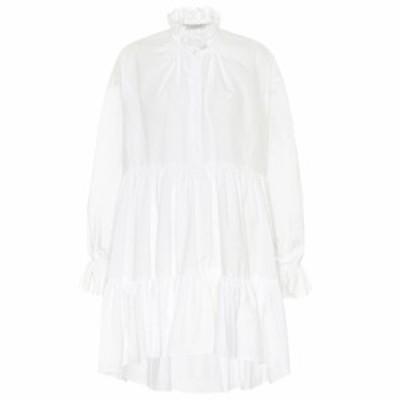 フィロソフィ ディ ロレンツォ セラフィニ Philosophy Di Lorenzo Serafini レディース ワンピース ワンピース・ドレス Ruffled cotton m