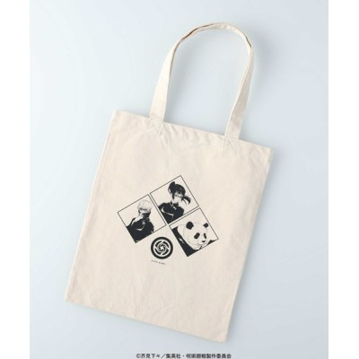 Right-on / 「呪術廻戦」プリントトートバッグ MEN バッグ > トートバッグ
