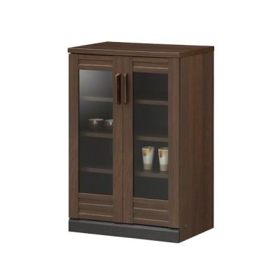 キャビネット 飾り棚 カップボード リビング収納 和風 収納家具 サイドボード モダン ダークブラウン 送料無料 WGR-8555G
